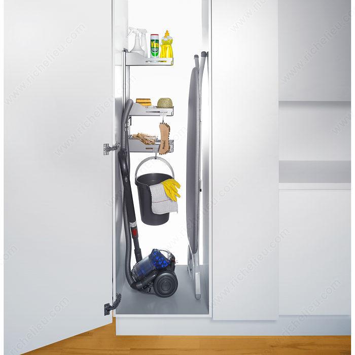 syst me de rangement pour armoire balai sesam 6356110 salle de montre. Black Bedroom Furniture Sets. Home Design Ideas